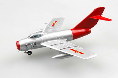 "Mig-15, ""Red fox"", Fuerza Aérea China, 1:72, Easy Model"