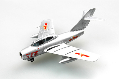 Mig-15 China PLA Air Force, 1980, 1:72, Easy Model