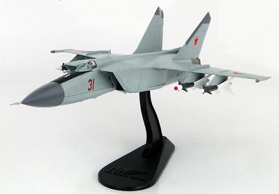 Mig-25P Foxbat Red 13, Viktor Belenko, Japón, 1976, 1:72, Hobby Master