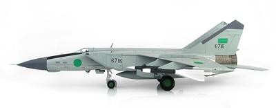 Mig-25PD Foxbat 1025th Aerial Squadron, F. A. Libias, Benin, 1981, 1:72, Hobby Master