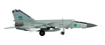 Mig-25PD Foxbat 1025th Aerial Squadron, Fuerzas Aéreas Libias, Benin, 1981, 1:72, Hobby Master