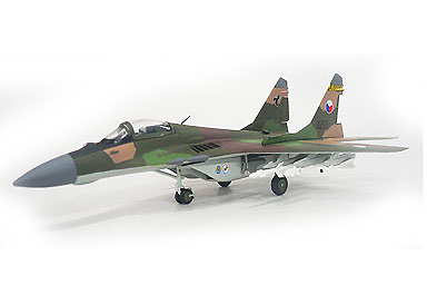Mig-29, 9-12A, 9207 Zatec air base, Czechoslovakia 1992, 1:72, Witty Wings