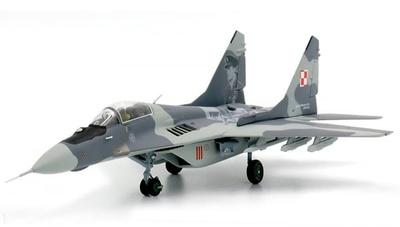 Mig-29 Fulcrum, Fuerzas Aéreas de Polonia, Kosciuszko Sqn., Riat, 2012, 1:72, JC Wings