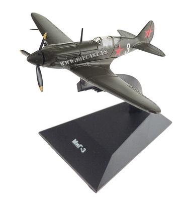 Mikoyan Mig-3, 2ª Guerra Mundial, 1:100, DeAgostini