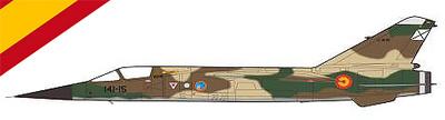 """Mirage F1 CE, Ejercito del Aire, Escuardon 141 """" PATANES"""", Ala de Caza 14, Albacete, 1:72, Falcon Models"""