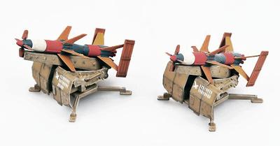 Misil Rheintochter R1 (2 unidades), Alemania, 1946, 1:72, Modelcollect
