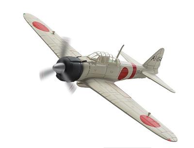 Mitsubishi A6M2 Zero, AI-I54 s/n.5289, Petty Officer 1st Class Takashi Hirano, IJN Aircraft Carrier Akagi, Pearl Harbor attack, 7 Diciembre, 1941, 1:72, Corgi