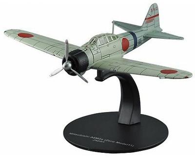 Mitsubishi A6M2a Zero, Modelo 11, 2ª Guerra Mundial, Armada Japonesa, 1:72, DeAgostini
