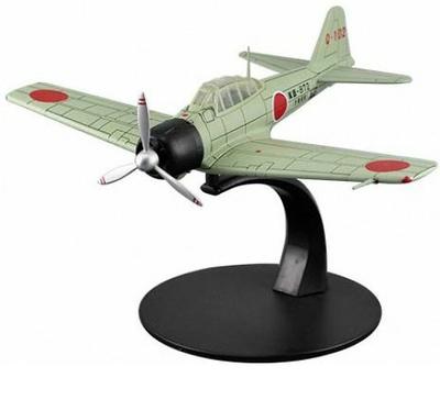 Mitsubishi A6M3 Zero, 2ª G.M., Armada Japonesa, 1:72, DeAgostini