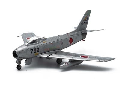 """Mitsubishi F-86F """"Kyokukō"""", JASDF, 1955–1979, Japón, 1:100, DeAgostini"""