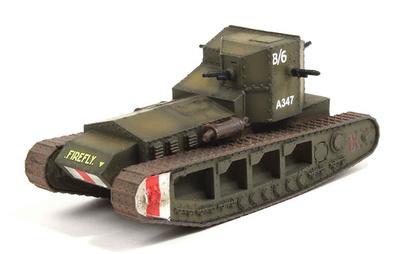 "Mk. A Whippet ""Firefly"" Batallón F, british tank, 1918, 1/72, Wings of the Great War"