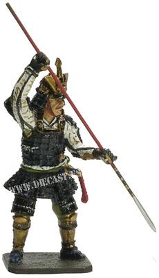 Mogami Yoshiaki, 1546-1614, Samurai, 1:30, Del Prado