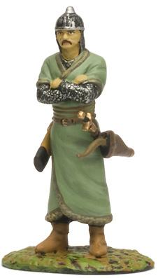 """Mongol,  Siglo XIII, Colección """"Guerreros Medievales"""", 1:32, Altaya"""