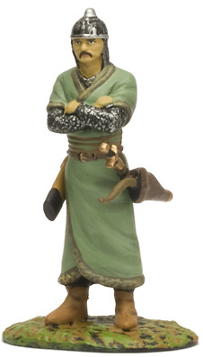 """Mongolian, 13th Century, Collection """"Medieval Warriors"""", 1:32, Altaya"""