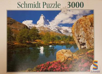 Monte Cervino, puzzle, Schmidt
