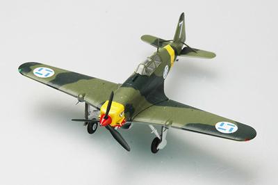 Morane Saulnier 406, Fuerzas Aéreas Finlandesas, 1941, 1:72, Easy Model