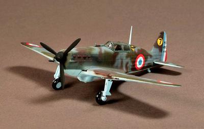 Morane Saulnier MS406, Armee de L'air, 1941, 1:72, War Master