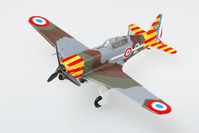 Morane Saunier 406, Fuerza Aérea de Vichi, 2ª Escadrille, 1:72, Easy Model