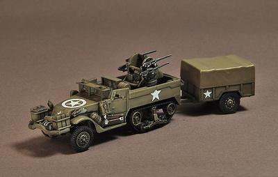 Mortar Motor Carriage, M16 Multi Gun, 1945, USA, 1:72, War Master