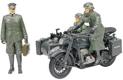 Motocicleta Zundapp KS 750 con sidecar, Operación Walkiria, 1:10, Schuco