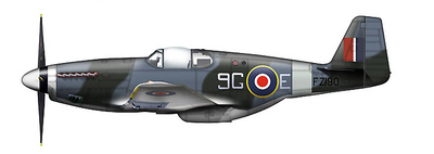 Mustang Mk.III 9G-E, 441 Squadron, RCAF, Mayo, 1945, 1:48, Hobby Master