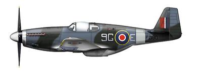 Mustang Mk.III 9G-E, 441 Squadron, RCAF, Mayo, 1945, 1:48, Hobby Master
