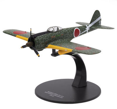 Nakajima KI-43, pilot Satoru Anabuku, Japón, 1943, 1:72, Atlas