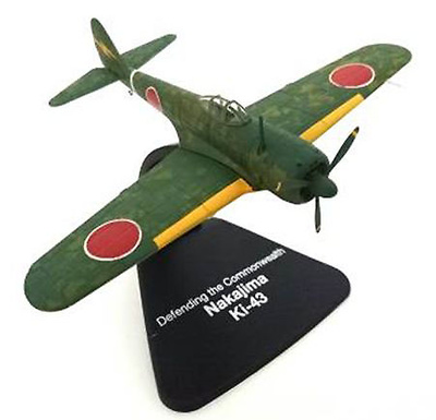 "Nakajima Ki-43 ""Defending The Commonwealth"",  Japón, 1943, 1:72, Atlas"