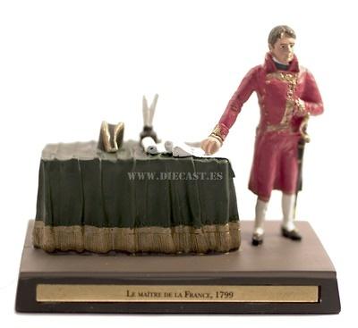 Napoleón, primer Consulado, 1799, 1:30, Ediciones Cobra