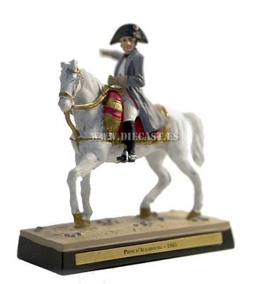Napoleón arengando al Segundo Cuerpo del Gran Ejército en Habsburgo, 1805, 1:30, Ediciones Cobra