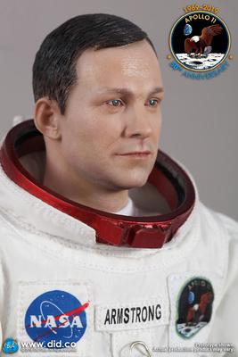 Neil Armstrong, Comandante del Apolo 11, Julio, 1969, 1:6, Did