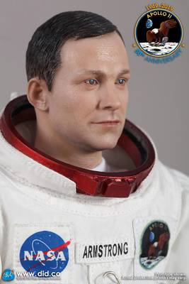 Neil Armstrong, Commander of Apollo 11, July 1969, 1:6, Did