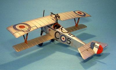 Nieuport 17,  C Flight, No. 60 Squadron, 2 de Junio, 1917, 1:30, John Jenkins
