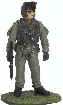 Night Stalker Helicopter Pilot, USA, 1:32, Altaya