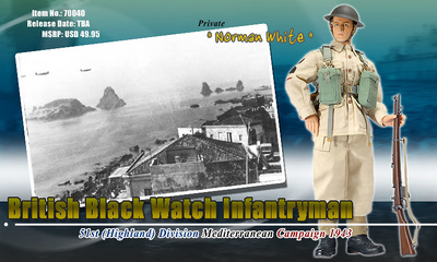"Norman White, 51st Highland Division ""Black Watch"", Sicilia, 1:6, Dragon Figures"