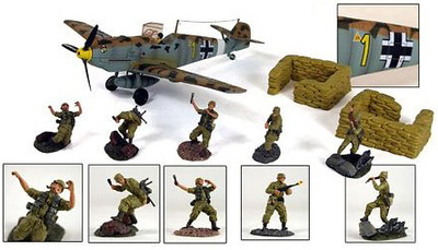 """North Africa """"Ready Line"""", action playset, 1:32, 21st Century Toys"""