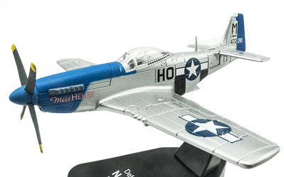 "North American Mustang P-51D, Campaña ""Defensa del Reich"", 1:72, Atlas"
