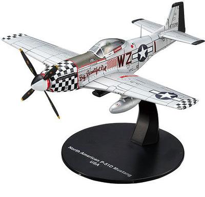 North American P-51D Mustang, USA, 1:72, Altaya