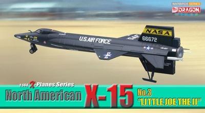 "North American X-15, No.3 ""Little Joe The II"", 1:144, Dragon Wings"