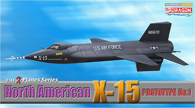 North American X-15, Prototype No.1 (Military), 1:144, Dragon Wings