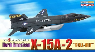 """North American X-15A-2 """"Roll-Out"""", 1:144, Dragon Wings"""