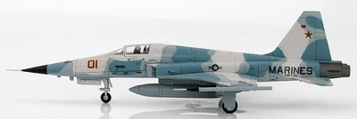 "Northrop F-5E Tiger II 730855, VMFT-401 ""Snipers"" Junio, 2006, 1:72, Hobby Master"