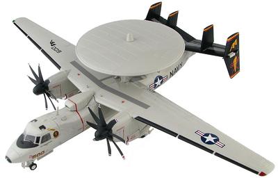 "Northrop Grumman E-2C Hawkeye 163536, VAW-125 ""Tiger Tails"" NAS Norfolk, Sept 2009, 1:72, Hobby Master"