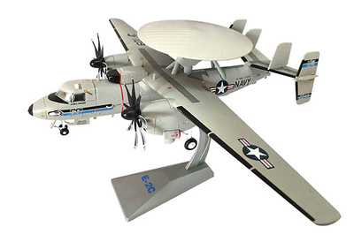 "Northrop Grumman E-2C Hawkeye AEW Aircraft - VAW-126 ""Seahawks"", Norfolk, Virginia, 1:72, Air Force One"