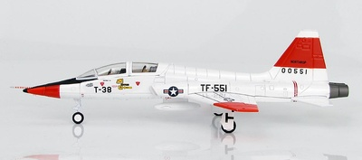 "Northrop T-38A Talon ""Jackie Cochran"" 60-0551,  Edward Air Force Base,  California, 1961, 1:72, Hobby Master"