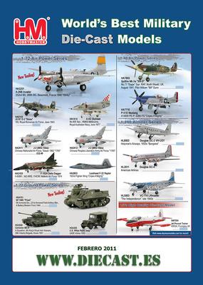 Novedades de Hobby Master Febrero 2011 (disponible en Marzo)