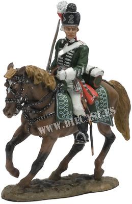 Officer, Hesse-Darmstadt Chevauleger, 1790s