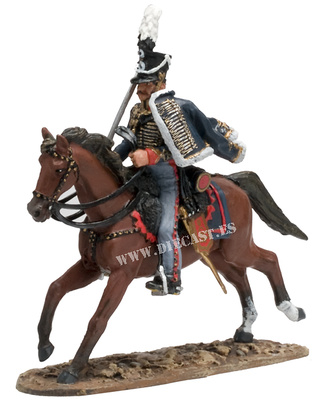 Officer, Prussian Normal Hussars, 1811, 1:30, Del Prado