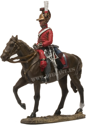 Oficial, British 1stm Life Guards 1815, 1:30, Del Prado