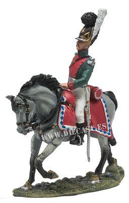Oficial, Caballería Ligera Bávara, 1812, 1:30, Del Prado